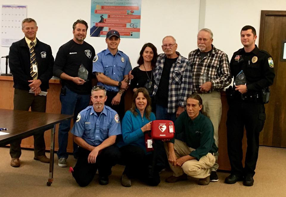 The Gift of Life, Awards, and AEDs