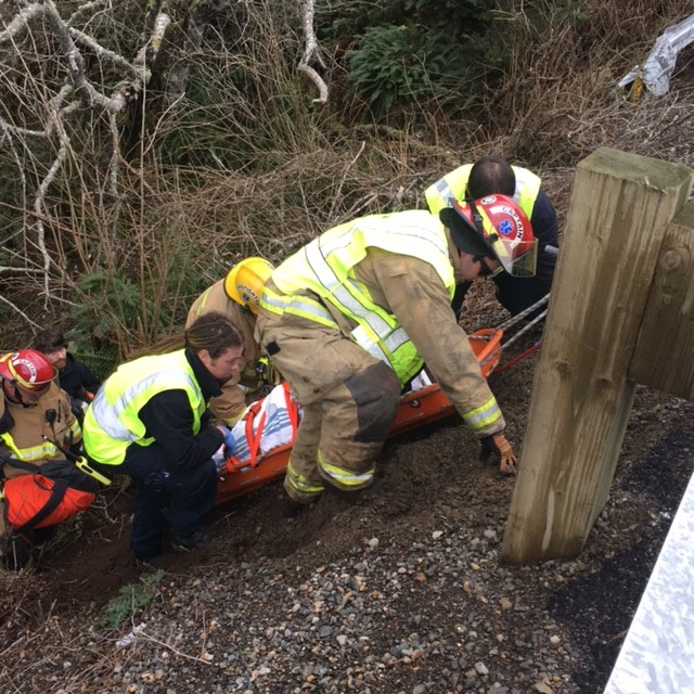 One Motor Vehicle Accident, Many Helping Hands