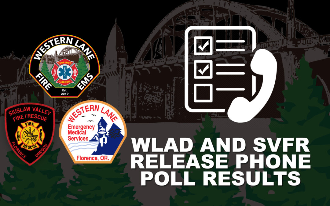 WLAD and SVFR Release Phone Poll Results